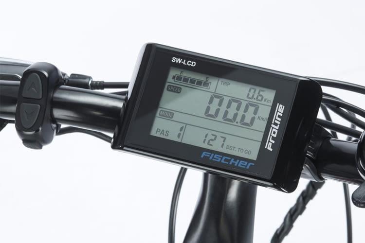 adadb5840a41d1 FISCHER Trekking Herren ETH 1606 kommt mit smartem LCD-Bediendisplay