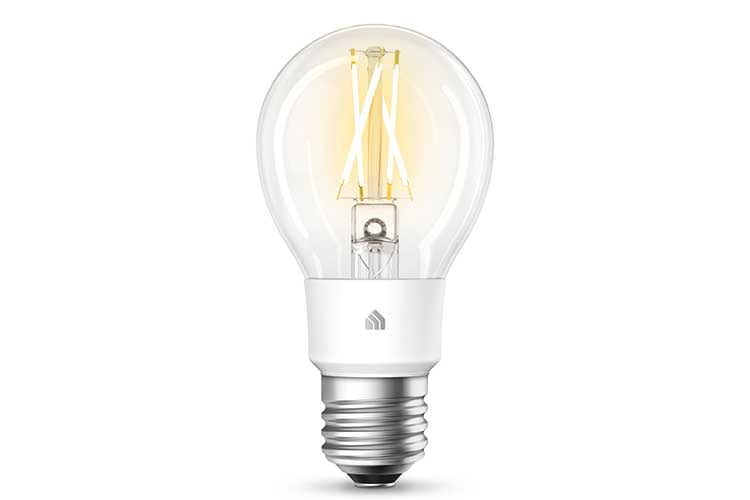 TP-Link Kasa Smart Filament Soft Weiß Leuchte besticht mit der überkreuzten Anordnung der LEDs