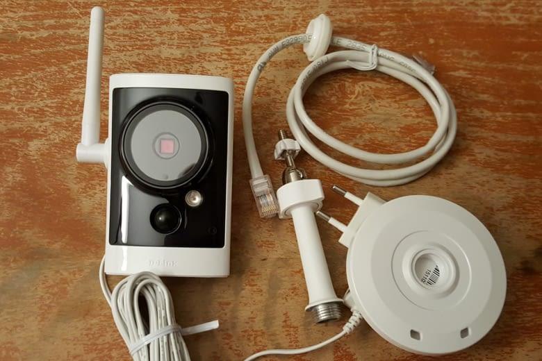 Die D-Link Überwachungskamera kann in EWE Smart Living integriert werden