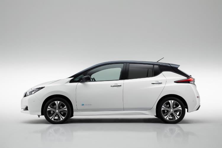 Der Nissan Leaf 2018 in der zweiten Modellgeneration