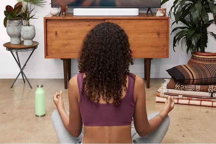 Die Sonos Beam Soundbar glänzt auch mit Musik-Streaming-Eigenschaften