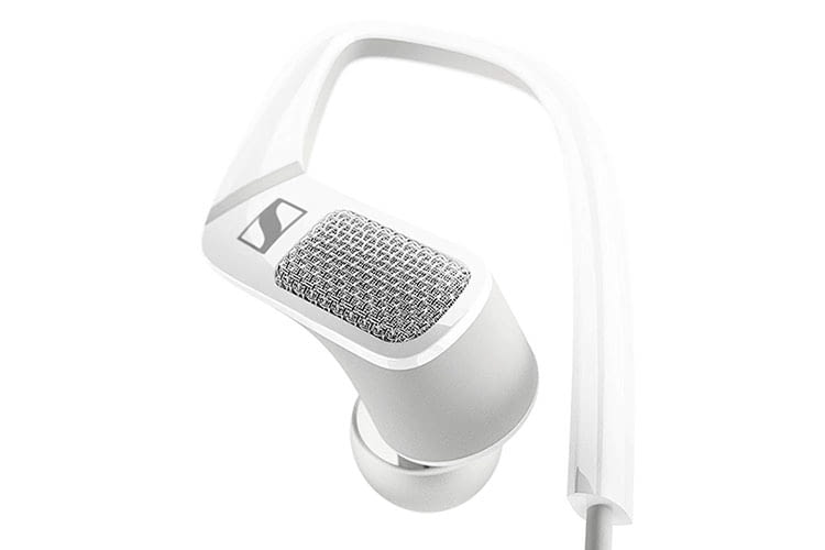 Sennheiser AMBEO SMART HEADSET - unter dem Gitter verbergen sich zwei omnidirektionale Mikrofone