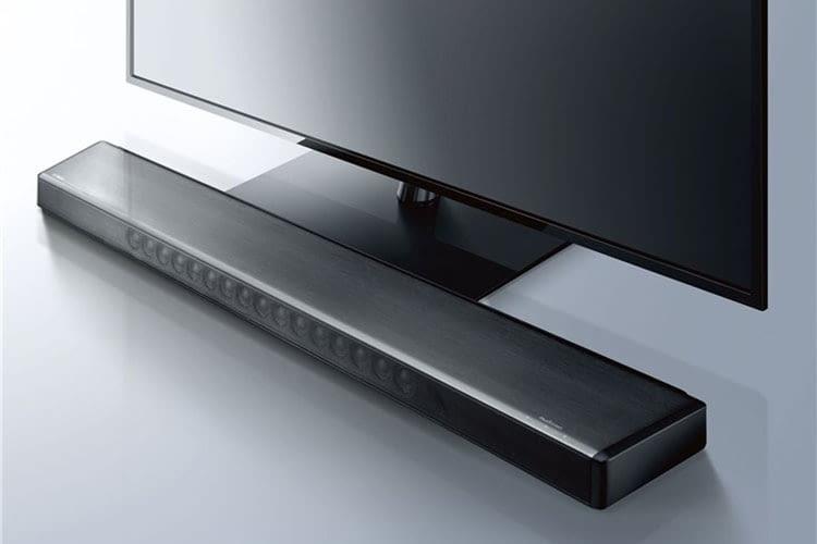 Die Soundbar Yamaha MusicCast YSP-2700 ist mit 94,4 cm knapp einen Meter breit