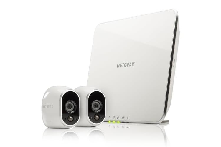 Netgear Arlo Kameras sind wasserfest und können auch draußen eingesetzt werden