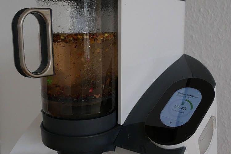 Der Temial Teeautomat hat für jeden Tee die richtige Brühzeit