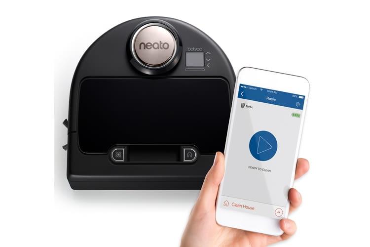 Mit der App kann zwischen zwei Reinigungsmodi gewechselt werden