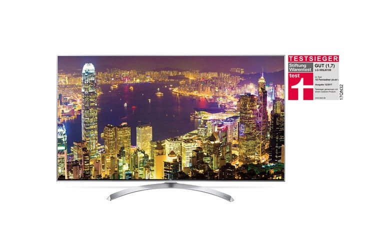 Einige Smart TVs von LG (hier der 55SJ8109 55'' LG SUPER UHD TV) sind sogar preisgekrönt