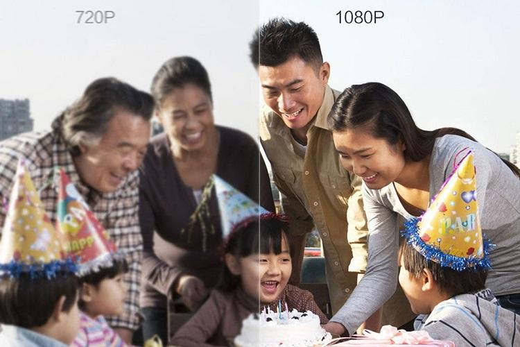 HD-Bildqualität durch LCD-Technologie: Xiaomi 360° Home Camera