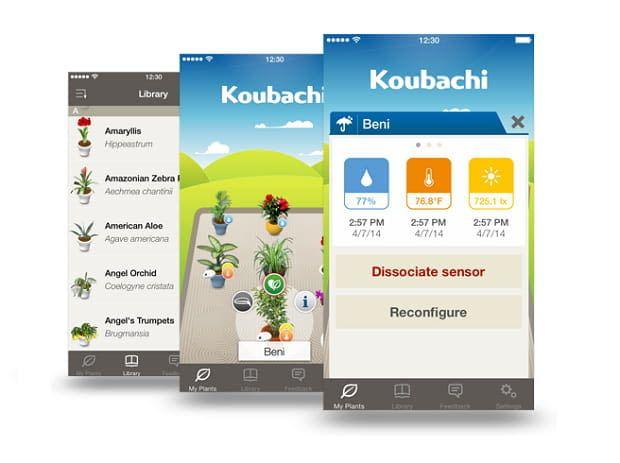 Koubachi Plant @ koubachi.com/de