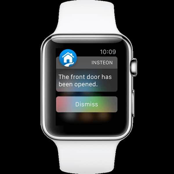 Insteon Push Benachrichtigung auf einer Apple Watch
