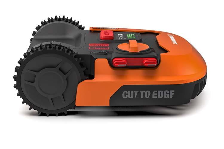 Der Marken-Mähroboter Worx Landroid M500 WR141E ist ein optimaler Mähroboter für kleinere Gärten bis 500 qm