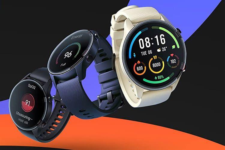 Die runde Xiaomi Mi Watch ist das teurere der beiden Modelle