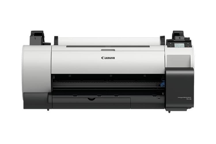 Dank des preisgünstigen Tintentanks hält Canon die Kosten des TA-Druckers gering