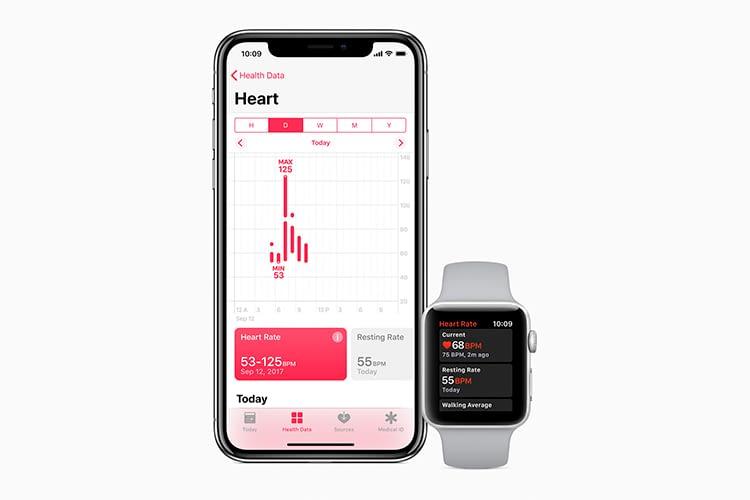 Das neue watchOS zeigt den Puls-Verlauf detaillierter an