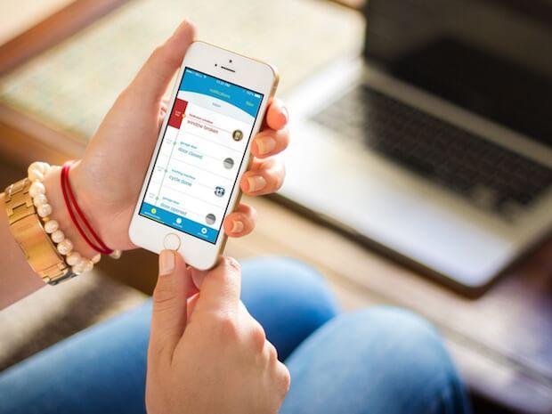 Abbildung der Notion Smart Home App für iOS und Android