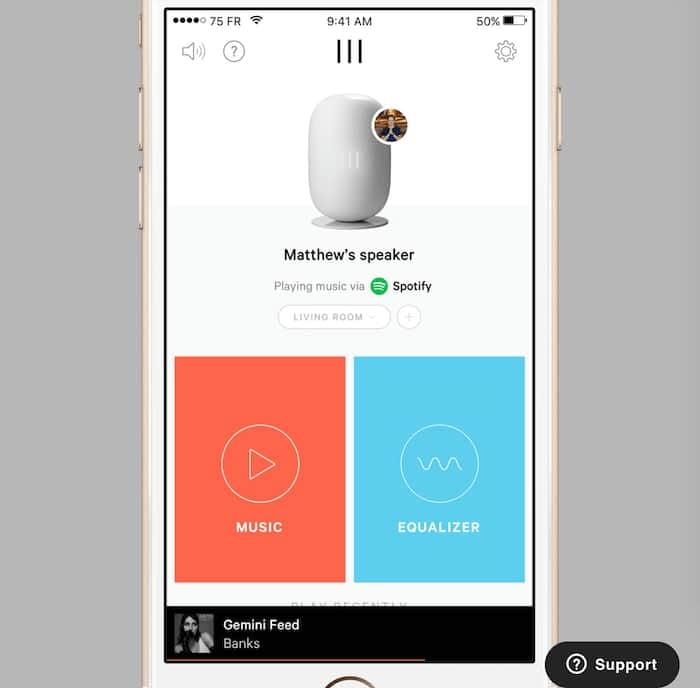 Whyd App für iOS und Android - Multiroom