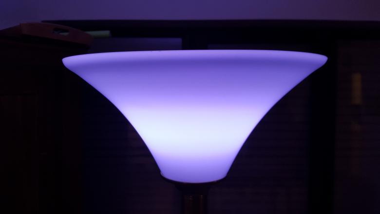 Osram Lightify Lichtstimmung lila-blau