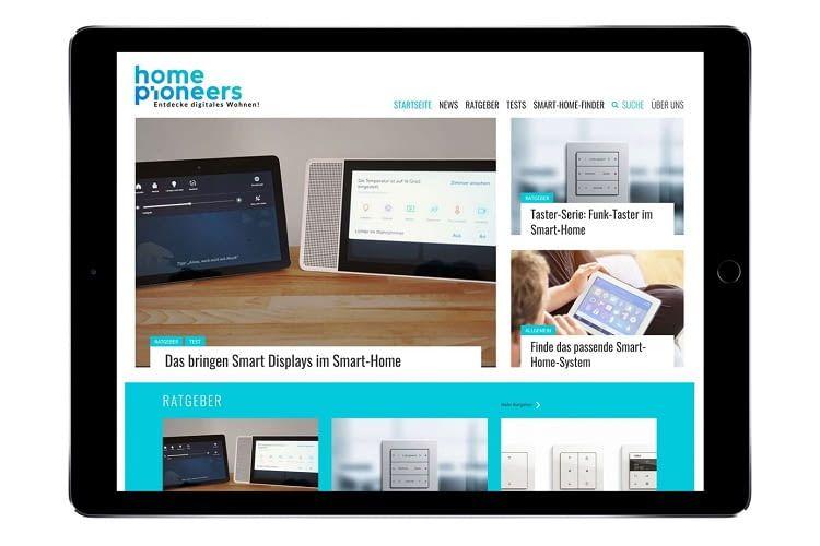 Die smarte Steuerung von Licht, Heizung, Rollläden und Musikanlagen - das sind einige der Themen, die homepioneers.de behandelt