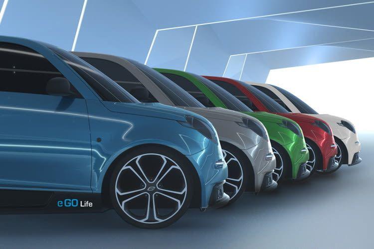 Vom Elektroauto e.GO Life sind von Start weg 3 Leistungsstufen erhältlich - zwischen 20 und 60 kW leisten die Elektromotoren.