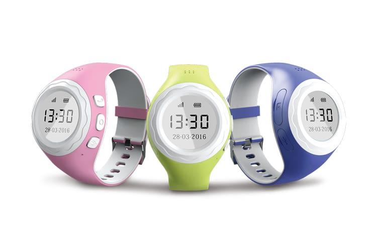 Die Pingonaut Kidswatch ist in verschiedenen Farben erhältlich