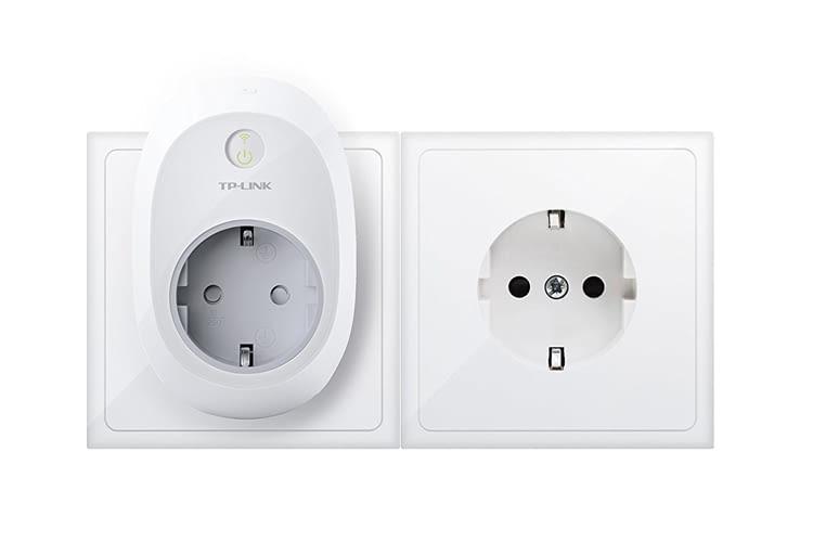 Der TP-Link HS100 Zwischenstecker ist auch kompatibel zu Google Home Lautsprechern