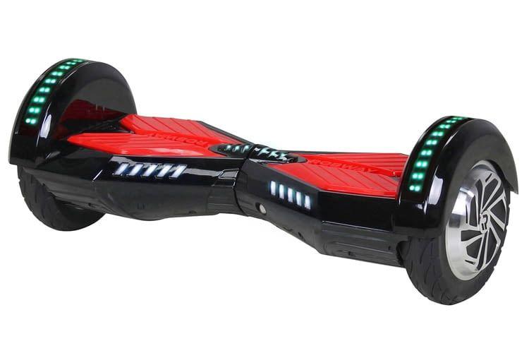 Auch optisch ein Knaller: Hoverboard Robway W2