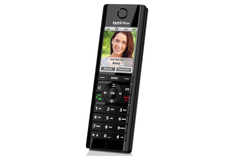 Das IP-Telefon FRITZ!Fon C5 ist perfekt für den Betrieb am DECT FRTIZ!Box-Router