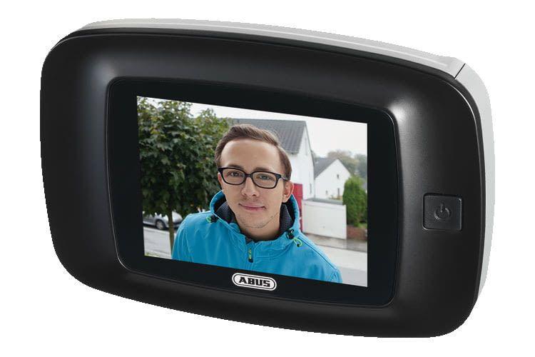 ABUS Digitaler Türspion DTS3214 ist ein Basisgerät, das eine lange Betriebszeit und einfache Bedienung bietet