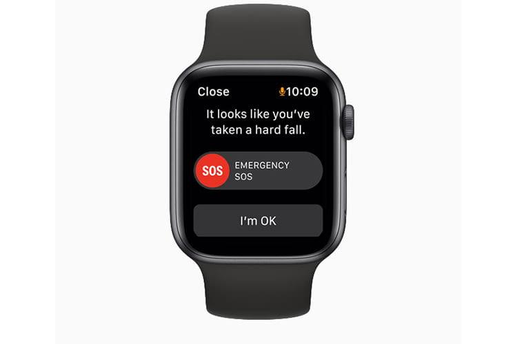 Dank SOS-Funktion können Nutzer der Apple Watch SE z. B. nach einem Unfall einen Notruf absetzen