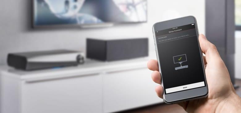 Per App das Denon Multiroom System steuern