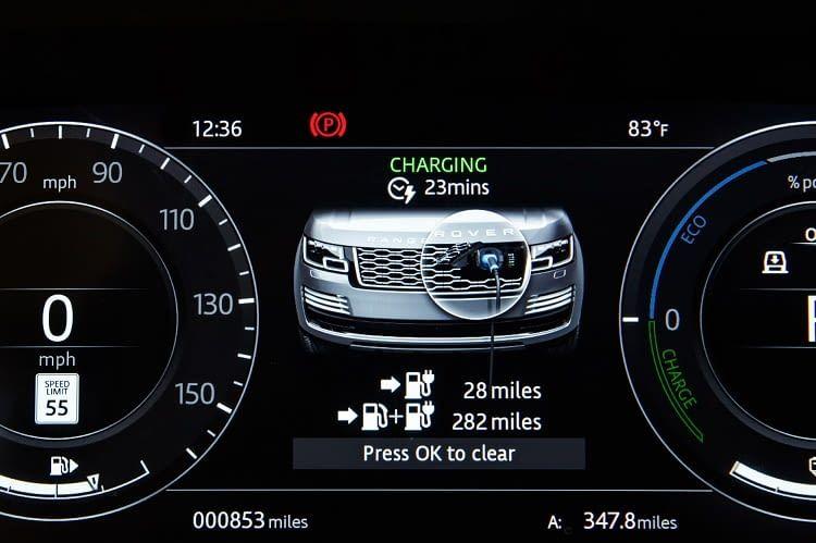 Aktuell bietet Land Rover seinen elektrischen Range Rover in drei Ausstattungslinien an
