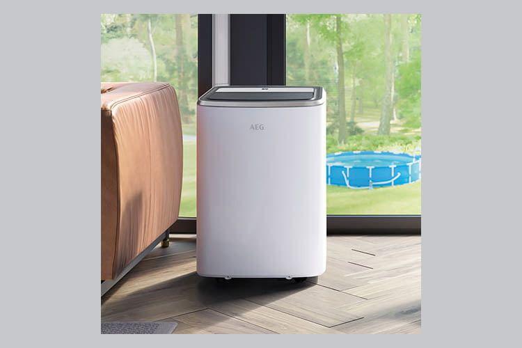 So sieht die von ALDI SÜD und Nord vermarktete AEG Klimaanlage aus