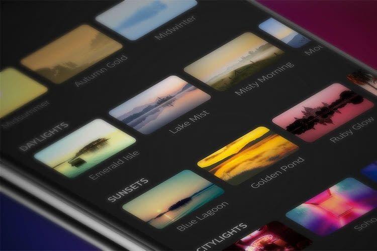 Die Philips Hue 3.0 App stellt 30 neue Lichtszenen zur Verfügung, die sich mit einem Fingertipp aktivieren lassen