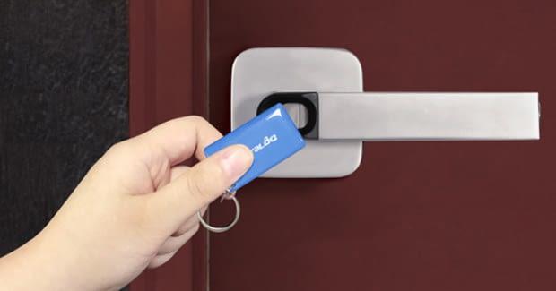 Key Fobs werden häufig zum Öffnen von Hotelzimmern genutzt