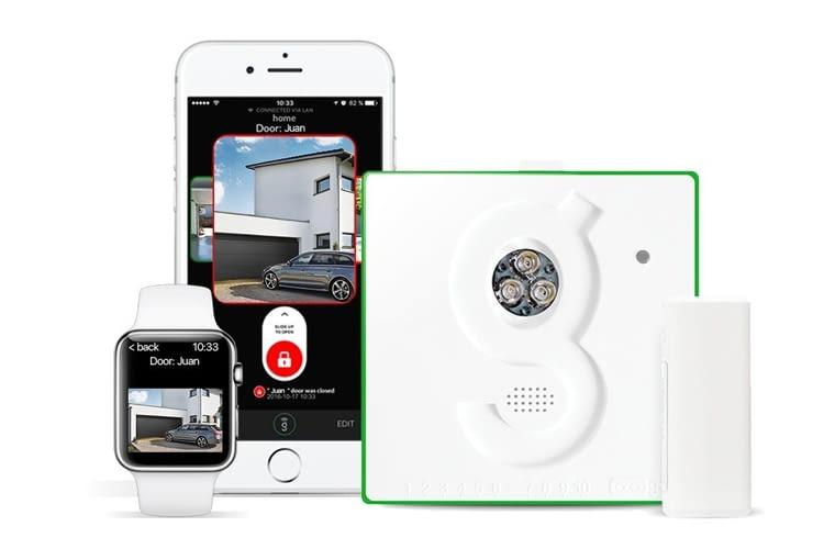 Der Gogogate 2 Controller lässt sich mit der kostenlosen App von jedem mobilen Endgerät steuern