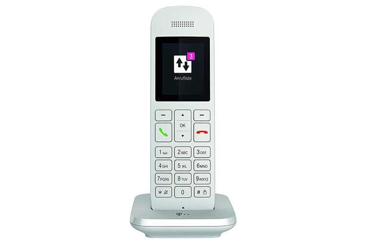 Schick im Design und günstig im Preis: das perfekte DECT-Telefon für den Telekom Speedport Router mit integrierter DECT-Basisstation