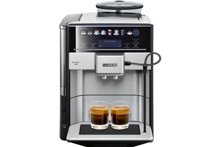 Alexa koch auch Kaffee, mit dem Siemens Home Connect Kaffeevollautomaten EQ.6 plus