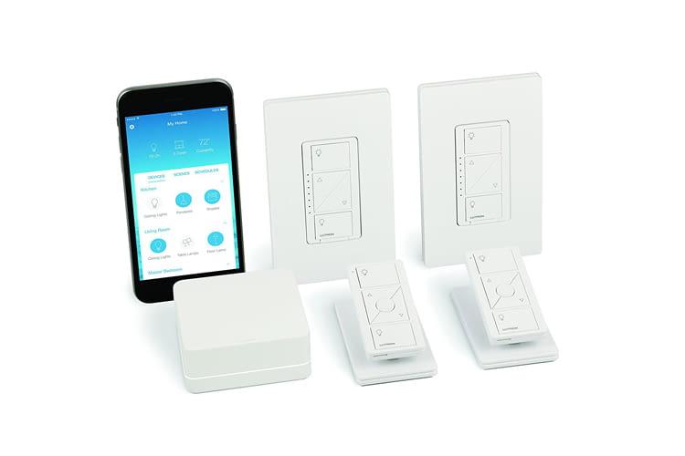 Lutron bietet u.a. auch ein HomeKit fähiges Lampen-Starter Kit an
