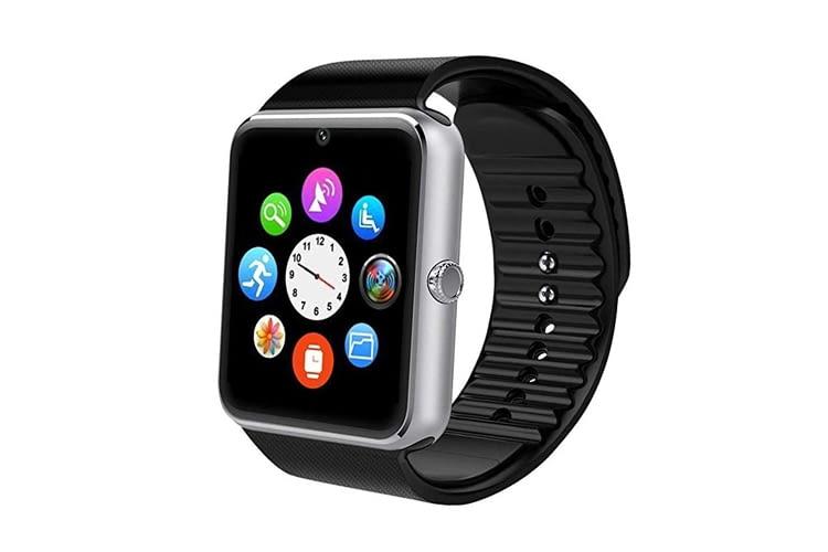 Mit der YAMAY Bluetooth-Smartwatch lässt sich auch die Smartphone-Kamera fernsteuern