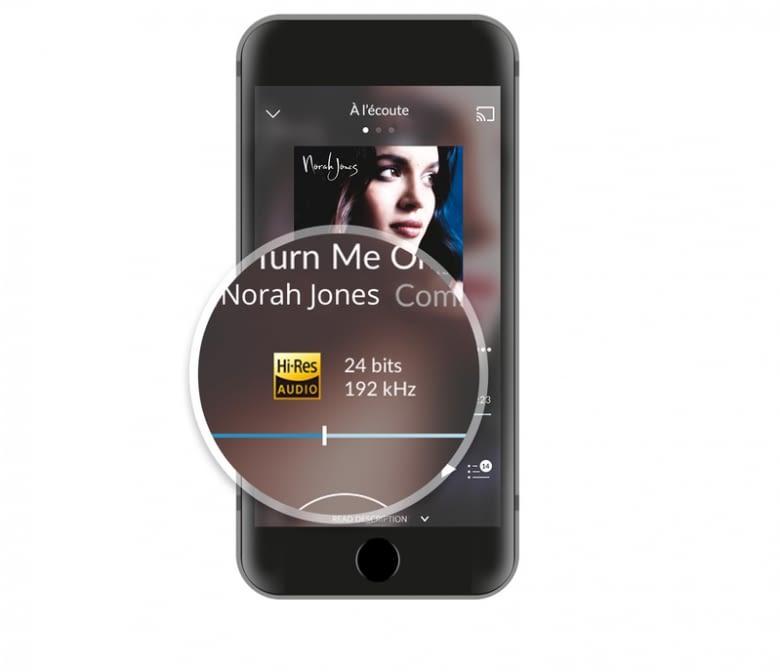 Das bessere Design sieht man der neuen Qobuz App Version an