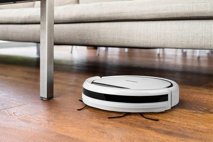 Der MEDION MD 18500 Roboter saugt nur dort, wo er soll