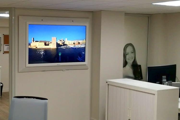 Fensterlose Büroräume werden durch WINTUAL ein wenig aufgelockert