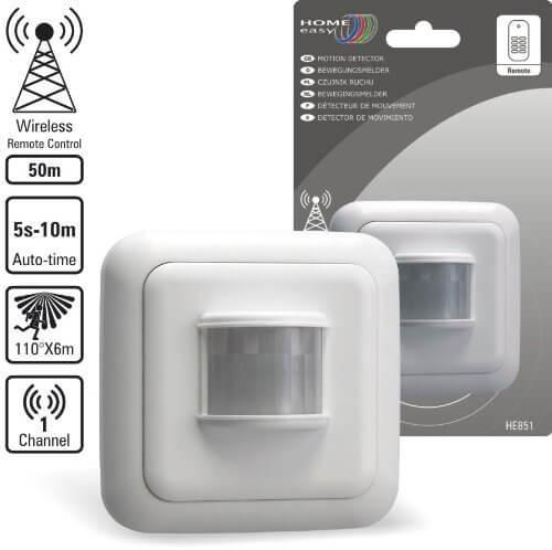 Abbildung des Home Easy HE851 Funk-Bewegungsmelder für das einfache Smarthome