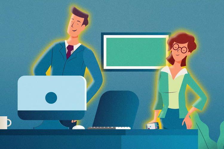 Zum Abschluss des IT-Sicherheitstrainings erhalten die Mitarbeiter ein individuelles Zertifikat