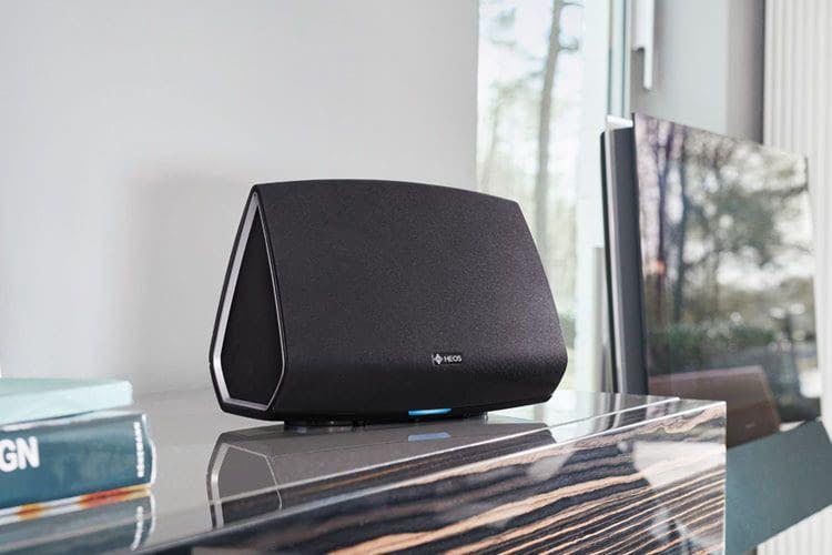 Heos Lautsprecher von Denon sind mit Denon Home Lautsprechern kompatibel