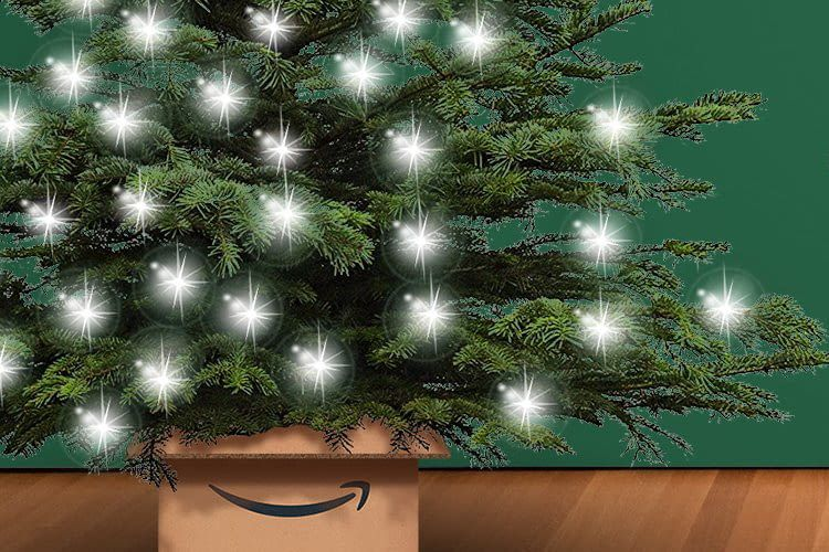 Amazon liefert den smarten Christbaum direkt nach Hause