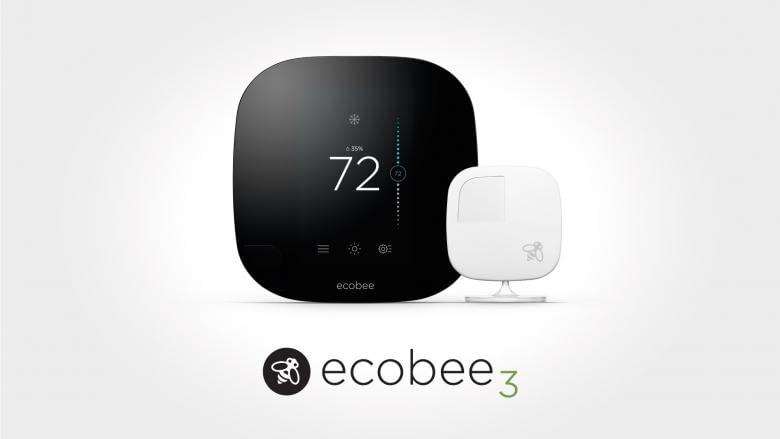 Der ecobee3 Thermostat kommt mit App für die Apple Watch