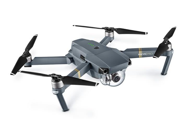 Aktivurlauber setzen auf die für Outdoor und Indoor geeignete Drohne Mavic Pro