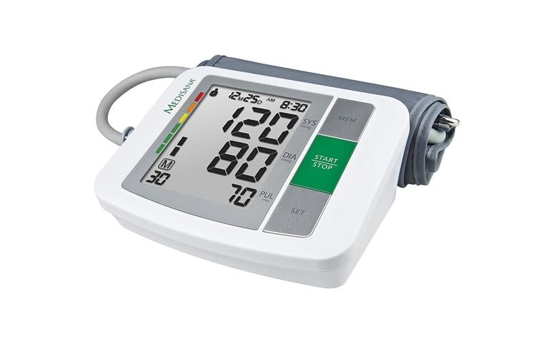 Ein großes Display ermöglicht auch Menschen mit Seheinschränkung die Nutzung des Messgeräts
