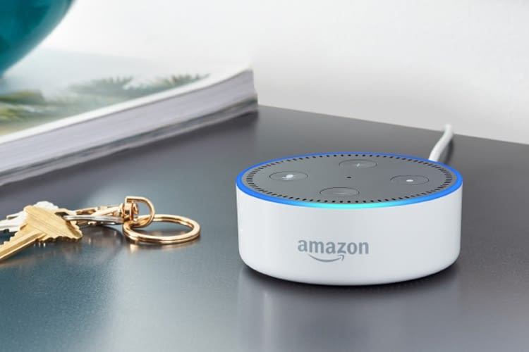 Wer drei Echo Dot Lautsprecher kauft, bekommt im Aktionszeitraum 30 Euro Rabatt